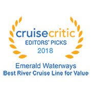 2018 Cruise Critic Award - Best Value for Money, River Cruise